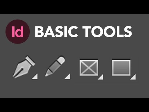 Learn How to Use the Basic Tools in Adobe InDesign CC | Dansky