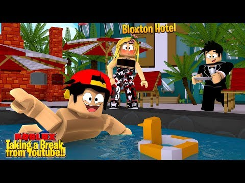 ROBLOX ROLE-PLAY - I'M TAKING A BREAK FROM YOUTUBE!!