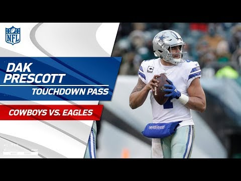 Video: Dak Prescott & Brice Butler Make a TD Connection to Take the Lead | Cowboys vs. Eagles | NFL Wk 17
