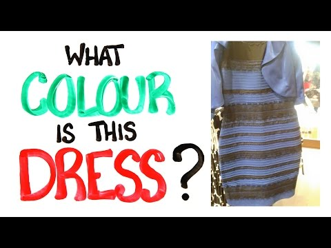 What Color is this Dress Solved With Science