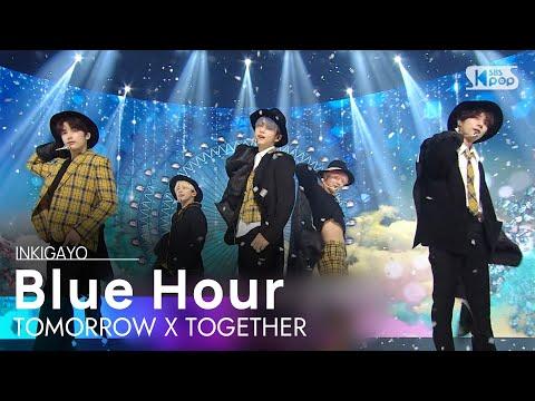 TXT(투모로우바이투게더) - Blue Hour(5시 53분의 하늘에서 발견한 너와 나) @인기가요 inkigayo 20201108