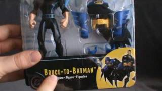 The Batman Bruce to Batman | Mattel Figure Review! #TheBatman #Batman