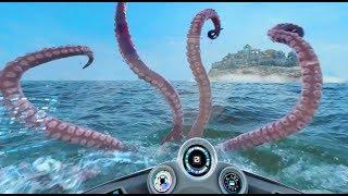 FULL Kraken Unleashed VR POV ride experience SeaWorld Orlando