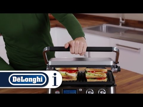 How to use the contact grill on your De'Longhi MultiGrill CGH1012D, CGH1020D, CHG1030D