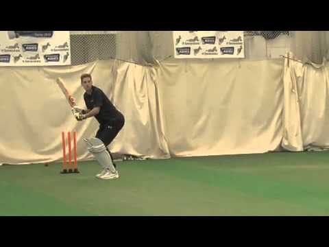 Stuart Broad Takes Tottenham's Michael Dawson Through His Paces At Lord's