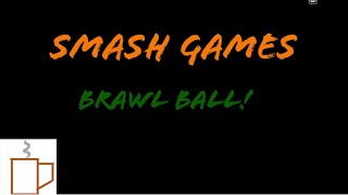 Another Custom Game in Sm4sh. BrawlBall