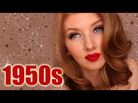 1950s - Travel back in time with me to the 1950s and I'll show you a historically accurate makeup tutorial! :) See the 1950s Inspired Hair Tutorial here: https://www...