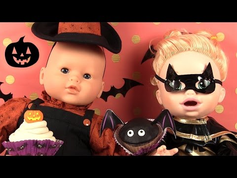 Halloween Déguisements Play Doh Cupcakes Corolle en Sorcière et Baby Alive Batwoman