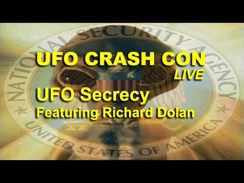 UFO Crash Con – UFO Secrecy – Richard Dolan LIVE