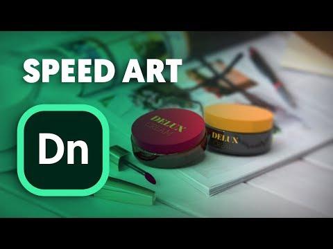 Adobe Dimension cc | SpeedArt - Exploring tutorial