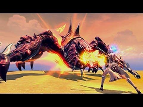 RaiderZ Online Free MMORPG 2013 Gameplay – Elementalist 38 lvl – solo Catacomb Dungeon