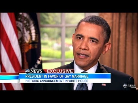 president obama gay marriage -