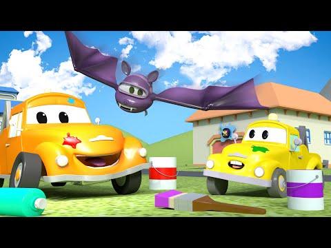Baby Hector è un PIPISTRELLO 💀 🎃 Halloween a Car City 👻 Cartone animato bambini