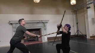 Stage Combat Examen Level 2, Londen