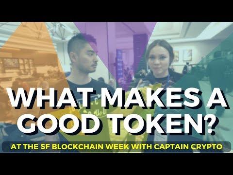What Makes a Good Token? San Francisco Blockchain Week_Storage videók rendszergazdáknak
