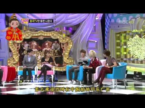 [中字]111031 來玩吧 Super Junior 銀赫東海 對話部分cut
