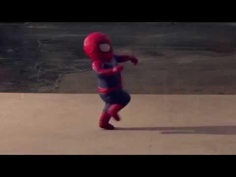 Spider Man Dancing To T-Wayne Nasty Freestyle