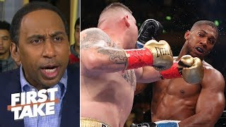 'We wanted to see Joshua vs. Wilder' – Stephen A. on Anthony's loss to Andy Ruiz Jr. | First Take