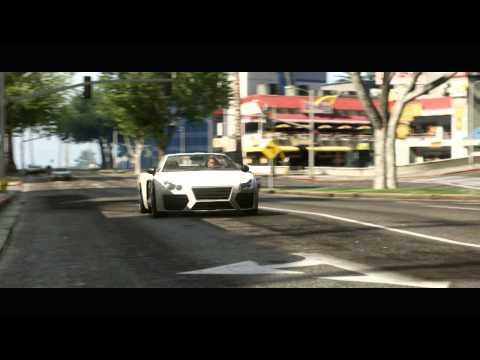 Drugi oficjalny zwiastun GTA V