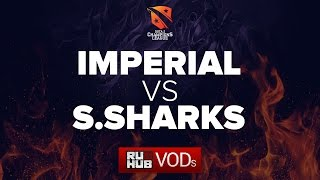 Imperial vs Sanguine Sharks, D2CL Season 9, game 2 [Smile, Jam]