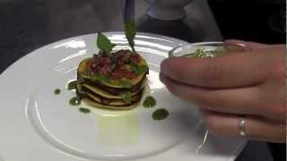 2 Michelin Vivalda presents his kitchen and a dish