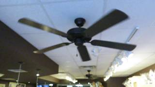 These fans are located in Maple Leaf Fudge. There are 2 AC6852, and 2 AC6842 behind the counter. This building was built about 4 years ago. Before that, Maple Leaf Fudge was in the old building at the same place, just in next door, and it had 5 SMC K56/Hampton Bay Industrial and 1 Canarm Grand Builder. The front AC6852 wobbles a lot on high, and they are silent and blow okay amount of air. Both AC6852 are shown on all 3 speeds and both AC6842 are shown on high.Video of Hampton Bay Industrial and Canarm Grand Builder when Maple Leaf Fudge was in the old building: https://www.youtube.com/watch?v=zDcVA_Z05Ck