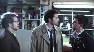 Supernatural  - The Ghostfacers meet Castiel