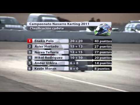 Resumen Campeonato Navarro Karting