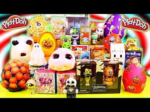 Surprise Eggs Play Doh Blind Boxes Vinylmations Kidrobot TokiDoki DCTC Toys Playdough Videos
