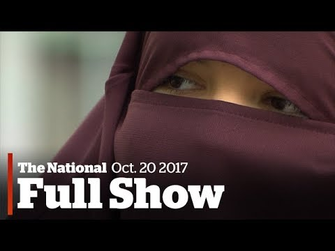 The National for Friday October 20th: Niqab protests, Downie brothers speak, mourning Fernie deaths (видео)