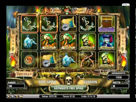 Ghost Pirates slot free spins