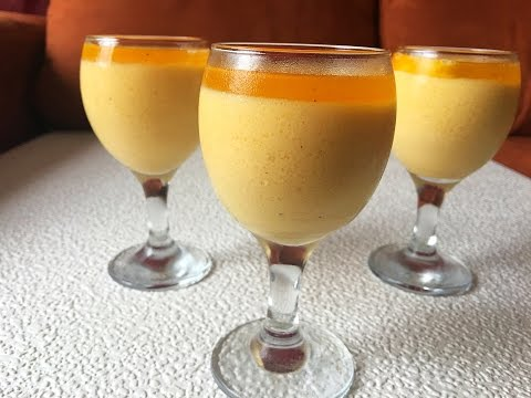 Mousse de Maracuya|Parchita| SUPER FACIL. Claudio Us.