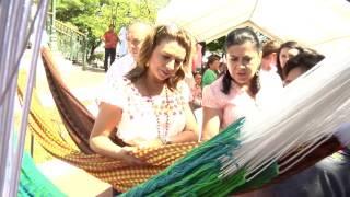 Gira de trabajo de la Presidenta del DIF Estatal por la ciudad de Tizimín