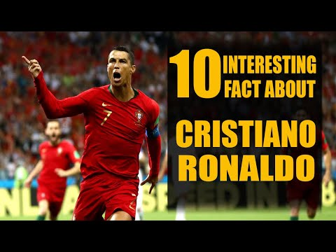 10 Things You Didn't Know About Cristiano Ronaldo | Amazing Facts