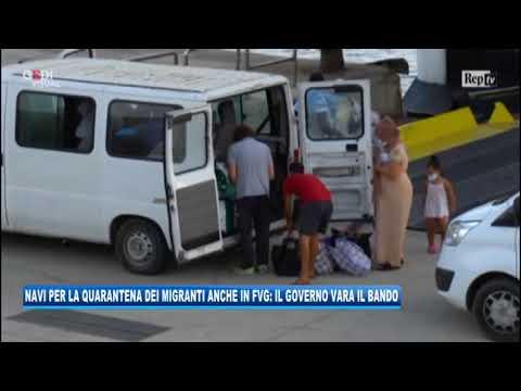 10/09/2020 - NAVI PER LA QUARANTENA DEI MIGRANTI ANCHE IN FVG: IL GOVERNO VARA IL BANDO