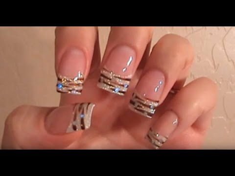 nail art - acrilico con decorazione