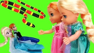 Video Elsa & Anna TURN small ! - Will they turn back to normal ? MP3, 3GP, MP4, WEBM, AVI, FLV Juli 2018
