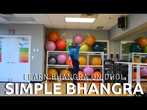 Video Learn Bhangra Dance Steps on Dhol | Simple Bhangra | Punjabi Folk Dance download in MP3, 3GP, MP4, WEBM, AVI, FLV January 2017