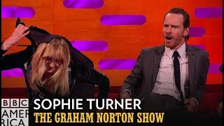 Video Sophie Turner's Secret Circus Skills | The Graham Norton Show | BBC America MP3, 3GP, MP4, WEBM, AVI, FLV September 2019