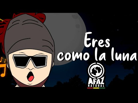 Afaz Natural & Santa Fe Klan - Luna (Lyric Video)