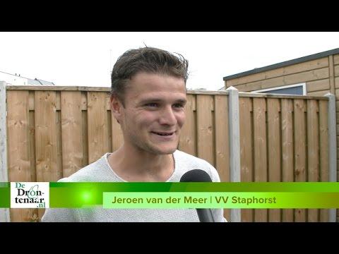VIDEO | Asv Dronten - Staphorst voor Jeroen van der Meer de 'wedstrijd van het jaar'
