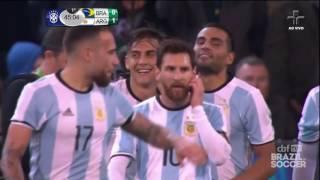 Brasil 0 x 1 Argentina Melhores Momentos