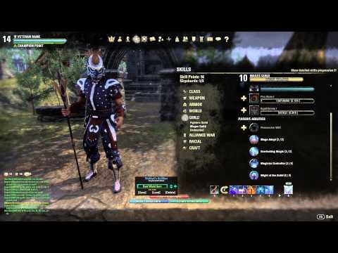 High Elf Elder Scrolls Online Build
