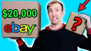 Video $10 VS $20,000 EBAY MYSTERY BOX Challenge Unboxing Haul! (Penny worth more than Bitcoin?!) MP3, 3GP, MP4, WEBM, AVI, FLV Januari 2019