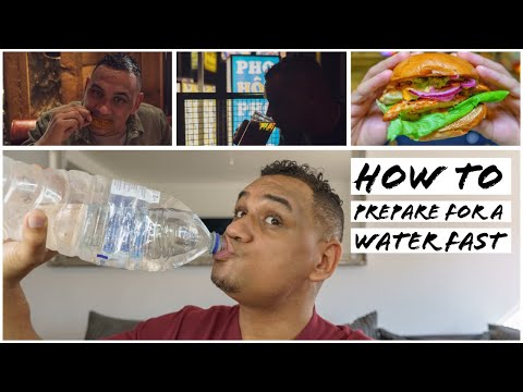 How To Prepare For A Water Fast | Should You Water Fast?