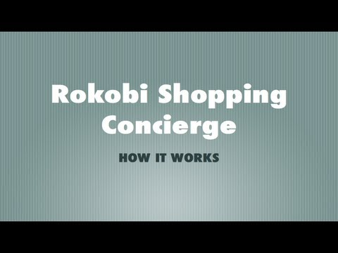 How Rokobi Shopping Concierge works; How to add items to Rokobi Cart from different retails