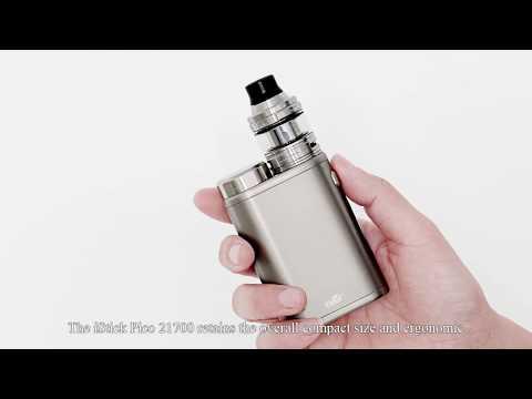 Батарейный мод Eleaf iStick Pico 21700 Kit в комплекте с Ello - видео 1