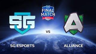 Финал верхней сетки SG eSports vs Alliance The Final Match LAN-Final. Комментирует: Feaver и Inverno.Подписывайся на наш канал: http://bit.ly/dotasltv_subscribeПрисоединяйся к нашему паблику: http://vk.com/dotasltvОбщайся с нами в твиттере: http://twitter.com/dotasltvИщи самые крутые фотографии с турниров : http://instagram.com/dotasltvСтавь лайк нашей странице в ФБ: http://facebook.com/dotasltv