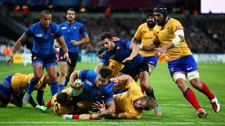 France v Romania Full Match Highlights and Tries | Rugby World Cup Video - France v Romania Full Mat