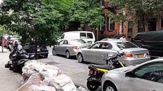 Fighting for parking in NYC